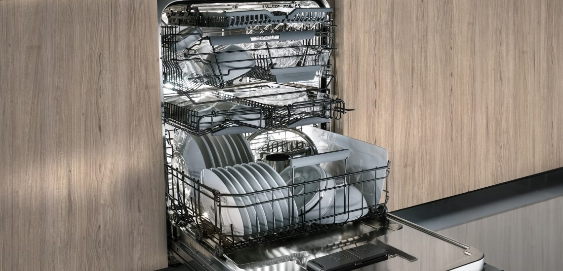 Configurator for dishwashers